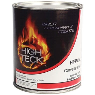 High Teck™ Factory Pack Basecoat - Corvette Red (GM WA-9075), Gal