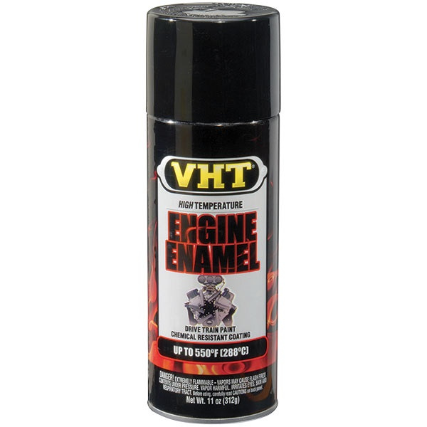 VHT® 550°F Engine Enamel - Gloss Black, 11 oz