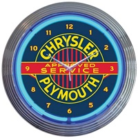 Chrysler Plymouth Neon Wall Clock