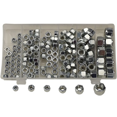 150-Pc Lock Nut Assortment