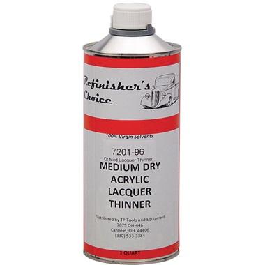Lacquer Thinner - Medium Dry, Quart