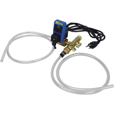Electronic Auto Tank Drain Kit with Self-Cleaning Valve