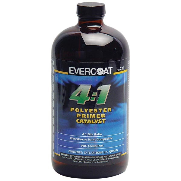 Chucks Auto Body >> Evercoat® 4:1 Polyester Primer Catalyst - TP Tools & Equipment