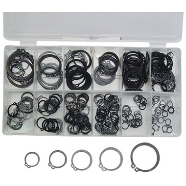 300-Pc Snap Ring Assortment