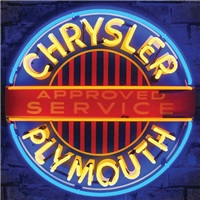 Chrysler-Plymouth Neon Sign