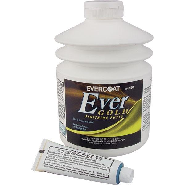 Evercoat® EverGold™ Finishing Putty, 30 oz Pumptainer