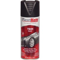 PlastiKote Trim Black Paint - 12 oz Spray