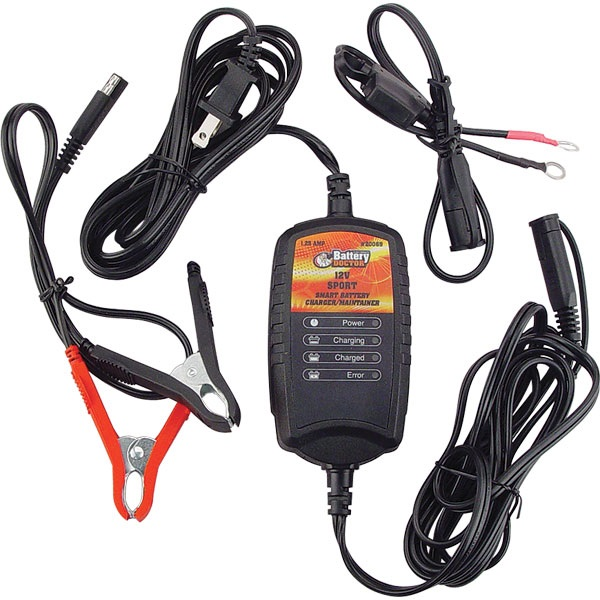 12-Volt Battery Doctor® Sport 1.25 Amp Battery Charger/Maintainer