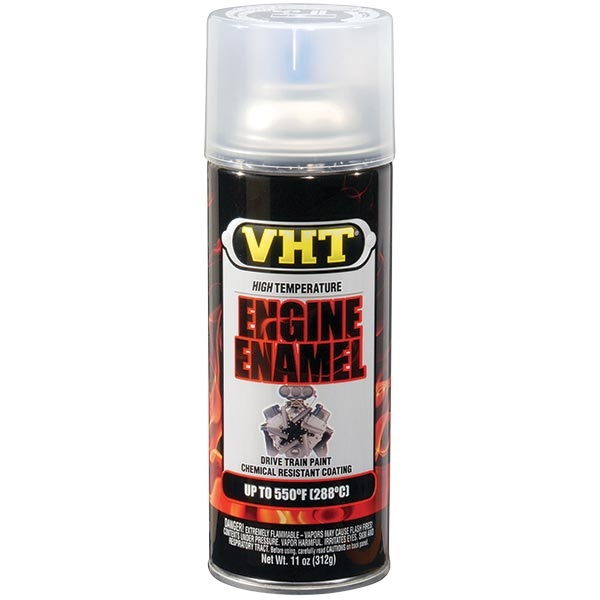 VHT® 550°F Engine Enamel - Gloss Clear, 11 oz