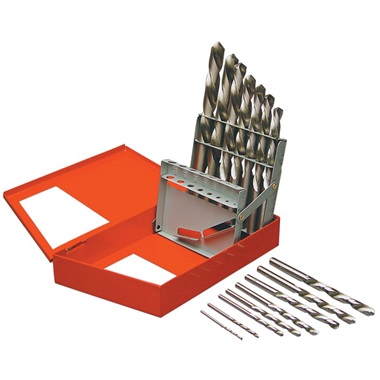 15 Pc Left-Hand Drill Bit Set