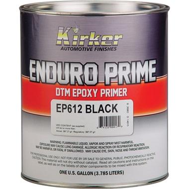 Kirker Enduro Prime Epoxy Primer (2K) DTM - Black, Gal