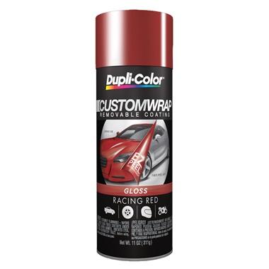 Dupli-Color® Custom Wrap Removable Coating - Gloss Racing Red, 11 oz