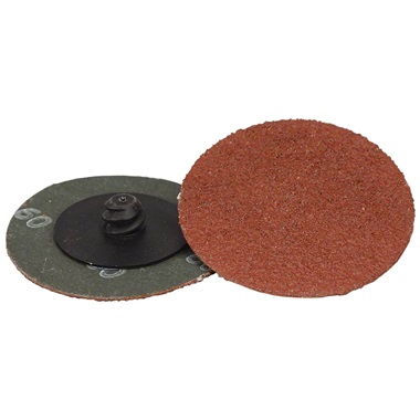 "2"" Quick-Change Sanding Disc - 60 Grit, Ea"