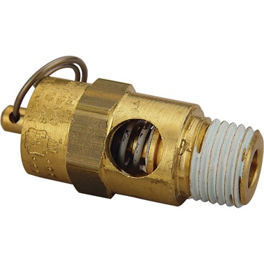 Air Compressor Air Safety Valve - 125 psi