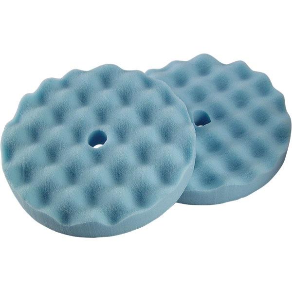 "TP Tools® 8"" Waffle-Style Blue Foam Finishing Pad, 2 Pk"