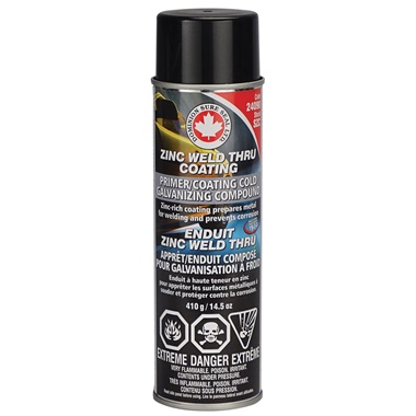 Dominion Sure Seal Zinc Weld Thru Coating, 14.5 oz