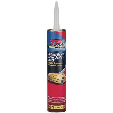 TP Tools® Auto Body Seam Sealer - Black, 10.14 oz Tube