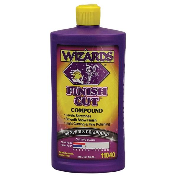 Wizards® Finish Cut™ Compound, Qt