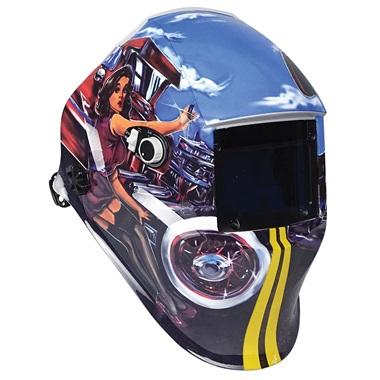 Auto-Darkening Weld Helmet