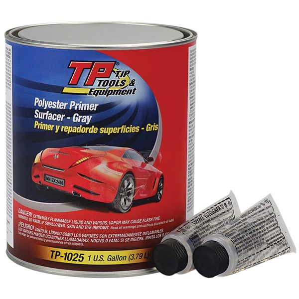 TP Tools® Polyester Filler Primer Surfacer (2K) - Gray, Gal