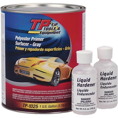 TP Tools® Polyester Filler Primer Surfacer (2K) - Gray, Gal