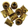 "3/8""-16 Zinc-Plated Steel Rivet Nuts - 10Pk"