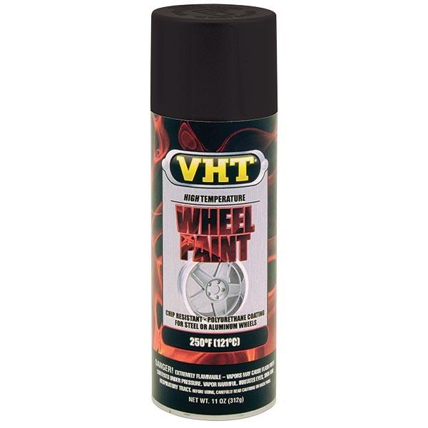 VHT® Wheel Paint - Satin Black, 11 oz