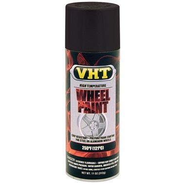 VHT® Wheel Paint - Satin Black, 11 oz