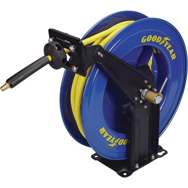 """GOODYEAR® 3/8"""" x 50 Ft Hose Reel with Hose"""