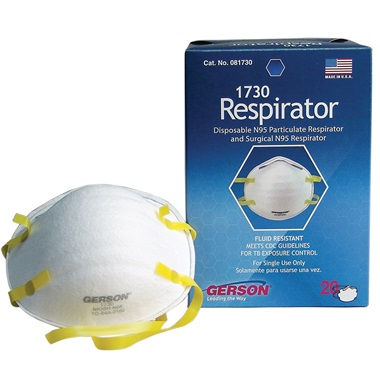 Respirator Gerson� mask N95 Respirator mask Gerson� N95