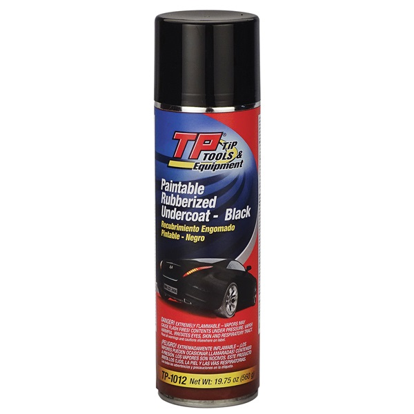 TP Tools® Quick-Dry Rubberized Undercoating, 19.75 oz Spray