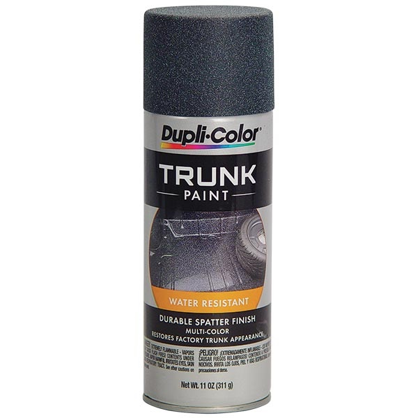 Dupli-Color® Spatter Finish Trunk Paint - Black & Aqua, 11 oz