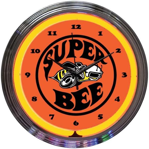 Dodge Super Bee Neon Wall Clock