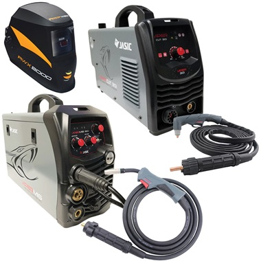 MIG/ARC Welder & 30 Amp Plasma Cutter Kit