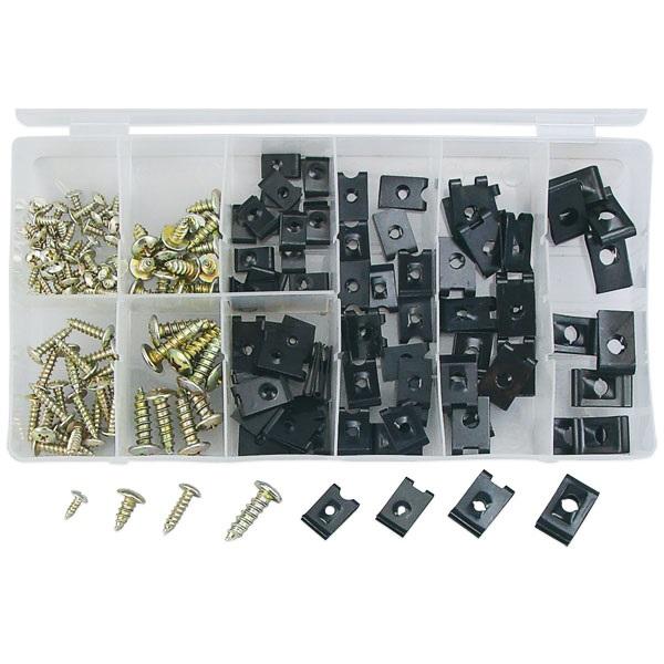 170-Pc U-Clip Assortment Kit