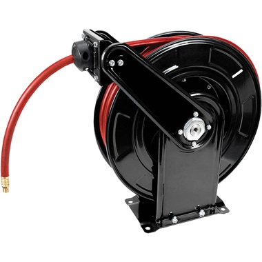 Performance Tool® 65 ft Heavy-Duty Auto Rewind Hose Reel