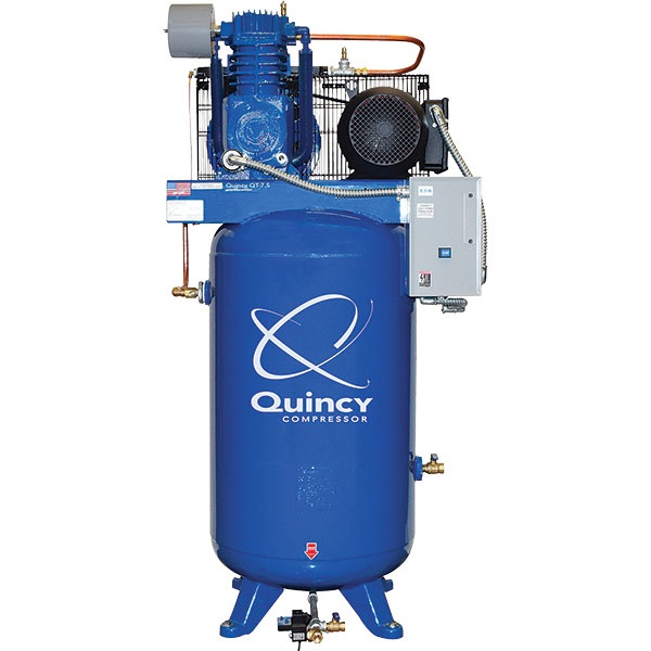 Quincy Max 7.5HP 2-Stage 80-Gal Air Compressor