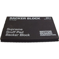 Scuff Pad Backer Block - Hard Back