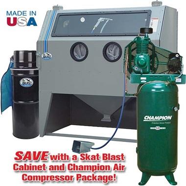 Compressor/Sandblast Cabinet Packages for Air Compressors - TP ...