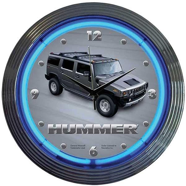 Hummer Neon Wall Clock