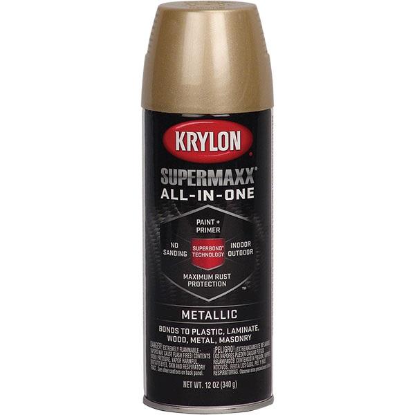 Krylon 174 Supermaxx 174 Metallic Paint Gold 12 Oz Tp Tools