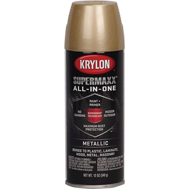 Krylon® Supermaxx® Metallic Paint - Gold, 12 oz