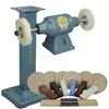 BALDOR® 3/4HP Buffer, BALDOR® Cast-Iron Stand & Buffing Kit