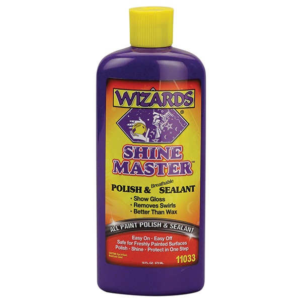 Wizards® Shine Master™ Polish & Sealant