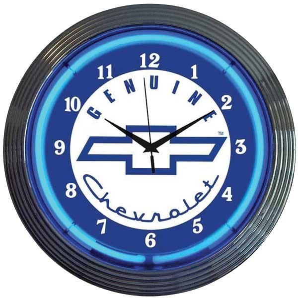 Genuine Chevrolet Neon Wall Clock