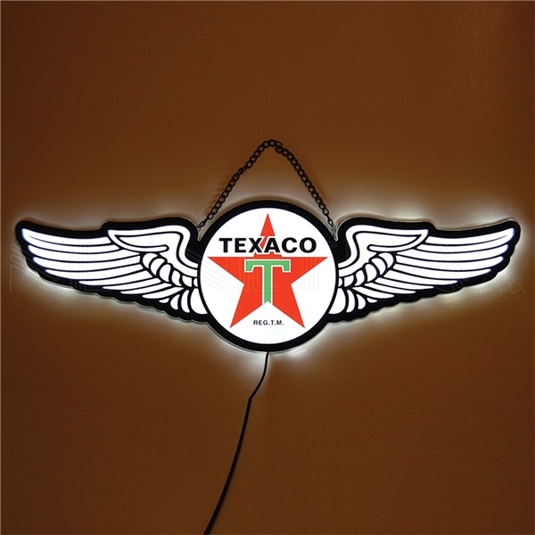 Texaco Slim Line LED Sign