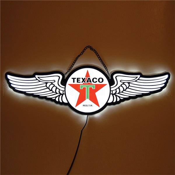 Texaco Slim Line LED Sign