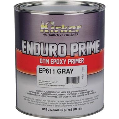 Kirker Enduro Prime Epoxy Primer (2K) DTM - Gray, Gal