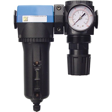 "1/2"" Deluxe Inline/Modular Air Regulator & Separator Combo"
