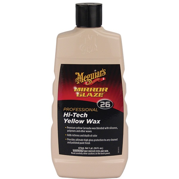 Meguiar's® Hi-Tech Yellow Wax